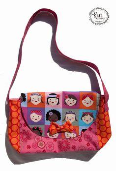 Bolso bandolera para niña / Purse for Girls por KiutThings en Etsy