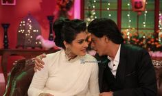 Kajol & Shah Rukh Khan on Comedy Nights With Kapil (DDLJ 1000th Week Celebration Special) (4-12-2014)