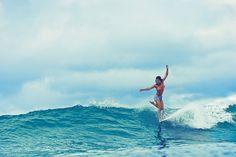 Kelia Moniz - Longboard  #surf