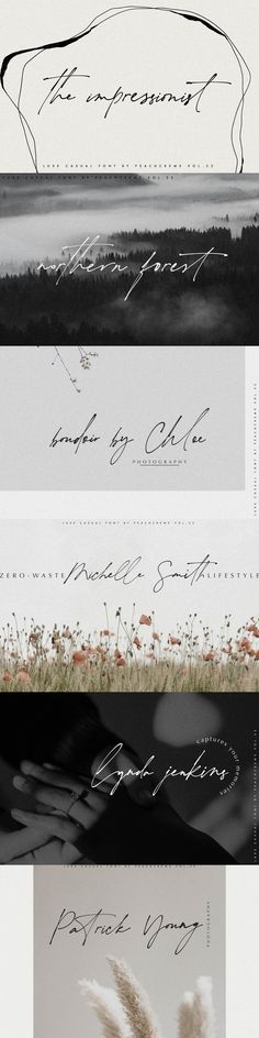 The impressionist. This font is about fleeting vision, touch of moments. Some letters may be illegible, but their shapes arouses emotions. Sometimes in design emotions are more important. Our brain can uncode the letter shapes. Calligraphy Fonts, Handwritten Fonts, Modern Calligraphy, Script Fonts, Monogram Fonts, Monogram Letters, Free Monogram, Typography Fonts, Great Fonts