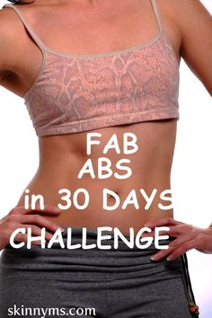 START TOMORROW and have fabulous abs by the New Year! Click here to get started.