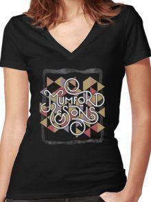 Mumford & son Shirt mit V-Ausschnitt
