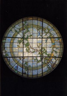 William Morris: Tiffany glass by Digital Collections at the University of Maryland, via Flickr