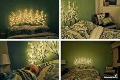 Decor Ambientes Interiores: Iluminação na Cabeceira da Cama