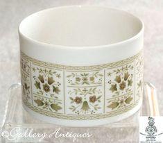 Items similar to Vintage Royal Doulton Samarra Pattern Open Sugar Bowl TC 1039 on Etsy Royal Doulton, Earthenware, Stoneware, Cut Glass, Glass Art, Vintage Tableware, Sugar Bowl, Vintage Silver, Etsy Vintage