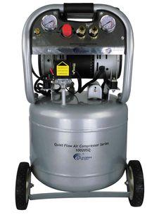California Air Tools Quiet Flow 2-HP 10-Gal Steel Tank Air Compressor $200.99