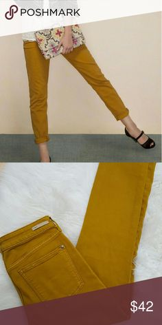 """Anthropologie Stet skinny ankle 27 By Pilcro and the Letterpress, like new, 29"""" inseam Anthropologie Jeans"""