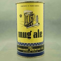 Mug Ale , Akron -1940 / FT