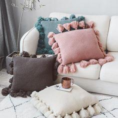 Olivia Knit Pillows