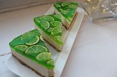 Mojito-cheesecake