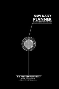 New Daily Planner by Productive Luddite Notebooks (ProductiveLuddite.com)