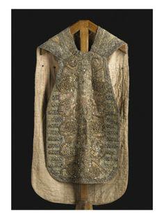 Chasuble brodée d'or et d'argent - Musée national de la Renaissance (Ecouen)