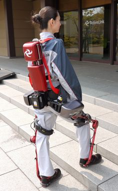 An Iron Man Suit for Factory Workers | Some workers could soon strap on a power-assist suit before maneuvering heavy objects. [Exoskeletons: http://futuristicnews.com/tag/exoskeleton/]