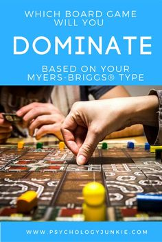 Which board game will you naturally succeed at based on your Myers-Briggs®️ personality type? Find out!