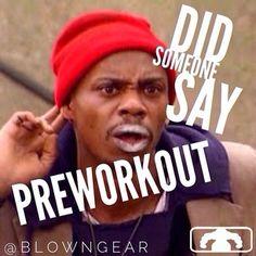 #Preworkout!! #gymhumor #gymmeme #blowngear