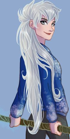 I have found few Jack Frost genderbends that I like, but I love this one!