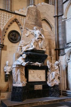 Westminster Abbey: Poets' Corner by The British Monarchy, via Flickr, memorials to our greatest poets