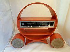 Dit item is niet beschikbaar Home Computer, Retro Radios, Vintage Space, Speaker Stands, Space Age, Retro Futurism, Black Wood, Painting On Wood, I Shop