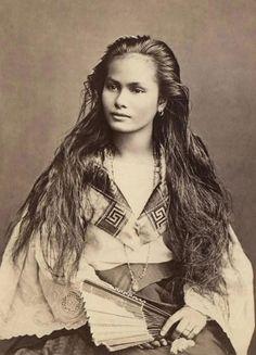 35 magníficas postales de bellas mujeres de inicios del s.XX