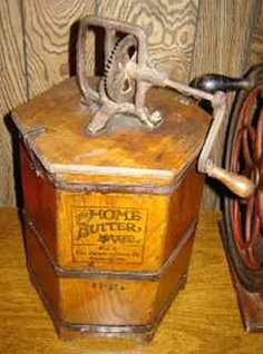 Old wood Home Butter Maker
