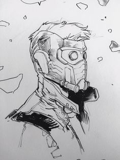 Star-Lord by Sara Pichelli *