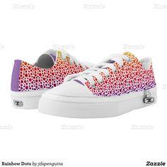 Rainbow Dots Printed Shoes