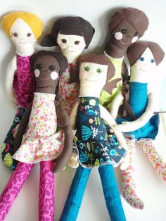 CUSTOM HANDMADE CLOTH DOLL $34.00  Inspired by Joslyn Taylor's style story.