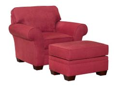 7902 Zachary Chair and Ottoman by Broyhill Furniture