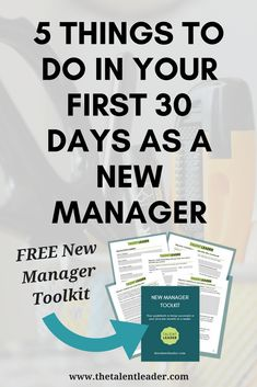 Five Things You Should Do in Your First 30 Days as a New Manager - Business Management - Ideas of Business Management - If youre a new manager this is a MUST READ! This lays out how to be a manager and what to do as a new manager. What Is Leadership, Leadership Coaching, Leadership Development, Leadership Quotes, Leader Quotes, Leadership Characteristics, Life Coaching, Leadership Activities, Teamwork Quotes