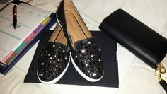 Day 16: sparkly slip on sneakers from Shoedazzle :)