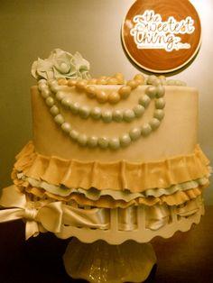 vintage sweet cake.