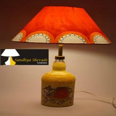 Remember to good ol days of the Maharajas. Royale Sawari creates that regal belonging in you. The base has a royal elephant motif while the shade is a vibrant orange to re-create the energetic atmosphere in your drawing room.www.sandhyashevadecreations.com