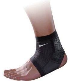Nike Pro Combat Hyperstrong Ankle Sleeve (Small, Black)