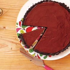 Dessert Recipes: Dark Chocolate Tart