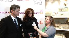 Kathy Ireland and Kevin Fick of Worldwise Interview With Lauren Darr at ...Global Pet Expo 2014  RP by Linda Hammerschmid