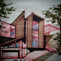 #julioarchitect #design_exploration #design_idea #lighting #J_house #correction…