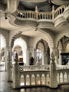 Architecture inside The Museum of Applied Arts in Budapest, Hungary | via Flickr.