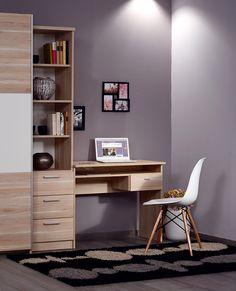 Tanulóasztal álgesztes juhar színben. Office Desk, Corner Desk, Furniture, Home Decor, Homemade Home Decor, Desk, Corner Table, Home Furnishings, Decoration Home