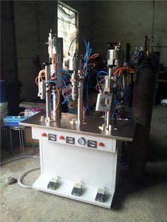 Bag-on-valve Aerosol Filling Machine with CE     More: https://www.aerosolmachinery.com/sale/bag-on-valve-aerosol-filling-machine-with-ce.html