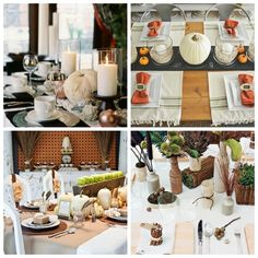 Thanksgiving Table Setting Ideas - Design, Dining + Diapers