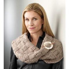 Mary Maxim - Free Basketweave Collar Knit Pattern - Free Patterns - Patterns & Books