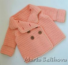 Click to view pattern for - Crochet cardigan for girl