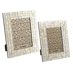 Mother-of-Pearl Frames