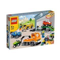 LEGO Sjov med køretøjer | køb nu på salling.dk