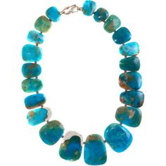 Monique Pean Peruvian Opal & Diamond Necklace