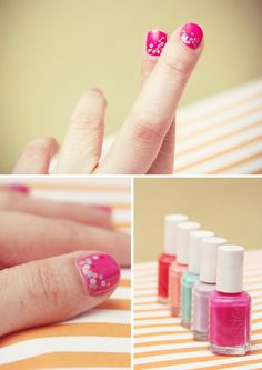 Go bold and put some sweet polka dots on your digits!