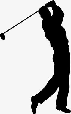 Silhouette Painting, Silhouette Clip Art, Silhouette Design, Golf Clip Art, Golf Art, Golf Images, Golf Pictures, Mini Golf Games, Play Golf
