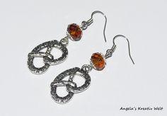 """Ohrhänger """"Brezel"""" von Angela`s Kreativ Welt auf DaWanda.com"""