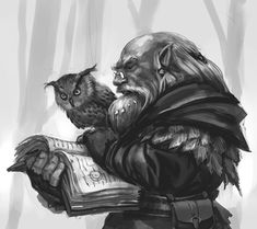 Dwarf, Mage, or Druid concept. https://chistowski.tumblr.com/image/166442633889