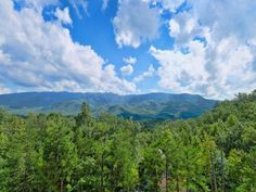 Cabins In Gatlinburg Tn, Big Screen Tv, Places To Go, Scenery, Mountains, Luxury, Travel, Tennessee, Happy